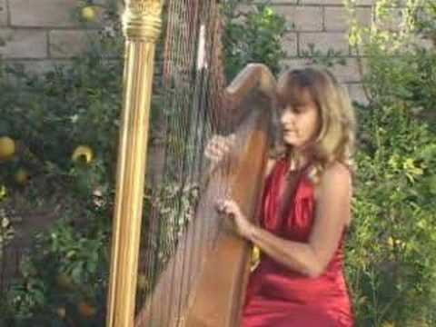 Harp -  Katrina Plays God Rest Ye Merry Gentleman And Other Christmas Music On The Harp video