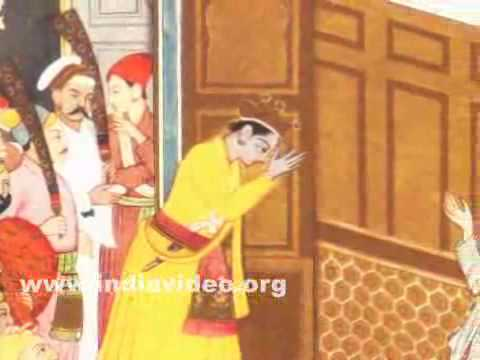 Sudama visiting childhood friend Krishna