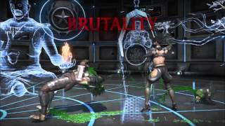 ALL BRUTALTIES ON PREDATOR!!!! (Mortal Kombat X)
