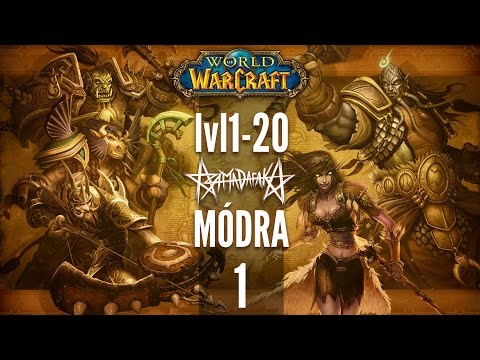 WORLD OF WARCRAFT lvl1-20 LIVE STREAM | 1.RÉSZ