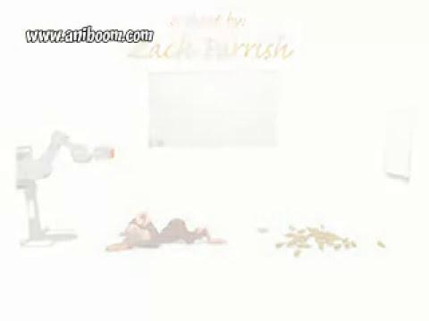 videos animados-mono impaciente