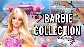 My Barbie Dollhouse Miniature Collection - Doll Food, Make up School Supplies & More