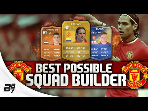 Photo of BEST POSSIBLE MANCHESTER UNITED TEAM! w/ FALCAO | FIFA 14 Ultimate Team Squad Builder