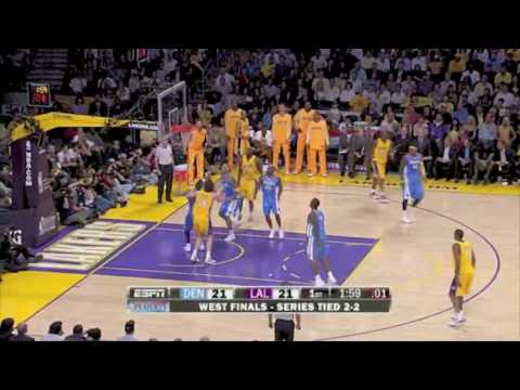Laker Bench Highlights