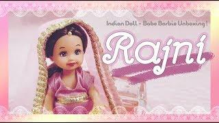 Indian life} Rajni🌹🌙 - Baby Barbie Doll Unboxing !