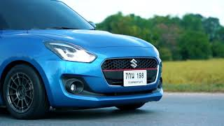HKS LEGAL SUZUKI NEW SWIFT 2018 CARBON TAIL