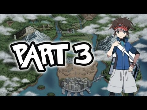 Pokemon Black 2 and White 2 Walkthrough Part 3 - Come At Me BRO!