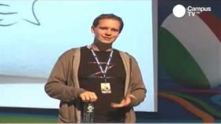 Excelente conferencia de Peter Sunde en Campus Party México 2010