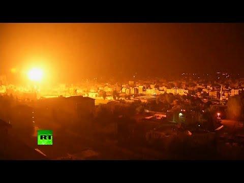 Video: Fuertes explosiones sacuden Gaza, Hamás lanza cohetes contra Israel