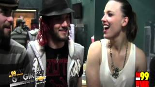 HALESTORM Interview (Girl Gina)
