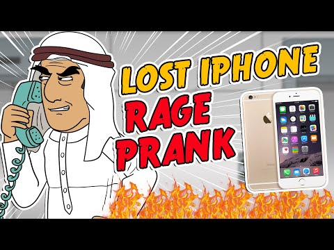 Saudi Lost Iphone Rage Prank - Ownage Pranks video