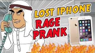 Saudi Lost iPhone Rage Prank - Ownage Pranks