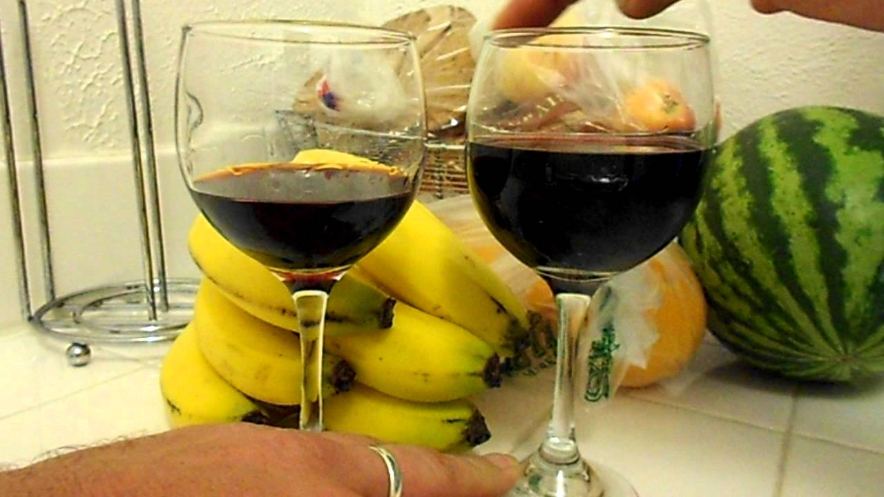 Magic Wine Glass The Magic Wine Glass Trick by