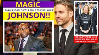 Magic Johnson(Lakers) Los Angeles Lakers Better Without Magic? First Take Stephen/Max [Commentary]