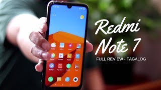 Redmi Note 7 Unboxing & Full Review - TAGALOG