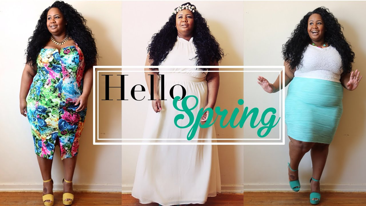 Plus Size Fashion Trends 2015 PLUS SIZE SPRING