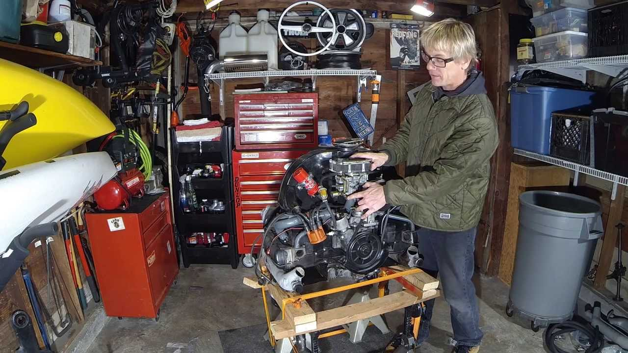Vintage VW Bus Engine Modifications Pt. 1 Teardown - DIY German Aircooled Garage #9 - 1 - YouTube