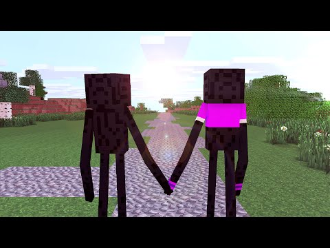 The Enderman life 2 - Minecraft animation