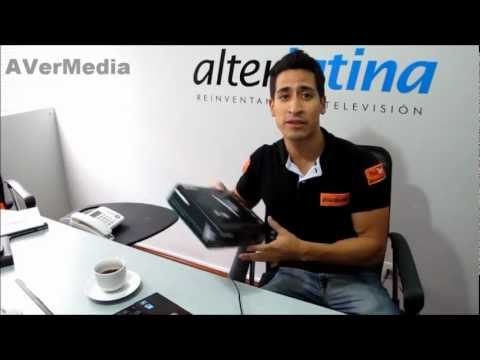 Captura Y Streaming De Video Profesional Con Multiples Entradas - Avermedia Alterlatina video