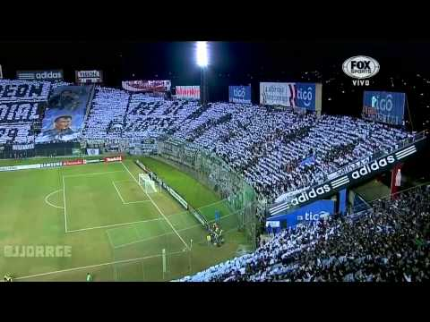 [HD] Recibimiento y Mosaico de Olimpia vs. Independiente Santa Fe. Fox Sports Sur. 02/07/2013