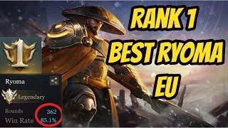 TOP 1 BEST RYOMA EU vs. Vex190 (All Conqueror Team) | DARKBREAKER Conqueror Rank 1 | Arena of Valor
