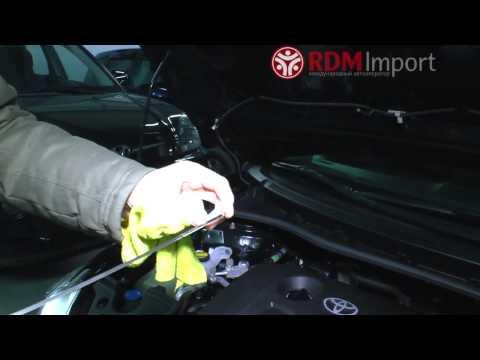 Видео как проверить уровень масла в АКПП Хонды