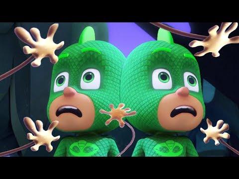 Герои в масках | Суперчутьё Гекко | Нарезка из целых эпизодов | мультики для детей