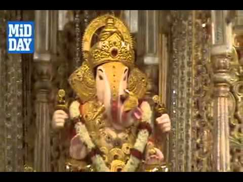Aarti Of Dagdusheth Halwai Ganpati  1) video