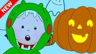 ★NEW★🎃 CAILLOU AND HALLOWEEN 👻 Funny Animated Videos For Kids | Caillou Videos For Kids