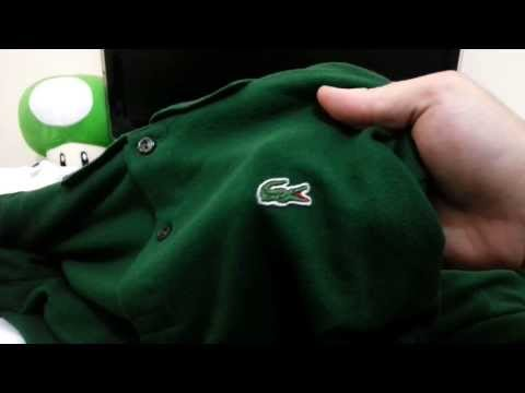 #16 UNBOXING – CAMISAS POLO LACOSTE