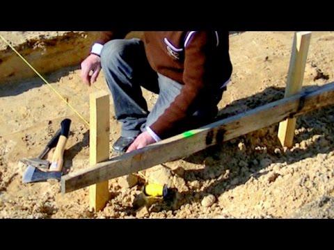 Budowa domu. Część 1 - Fundamenty, roboty gruntowe i geodezyjne