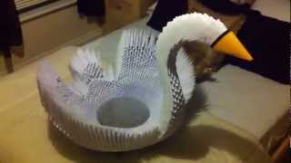 Giant 3d Origami Swan