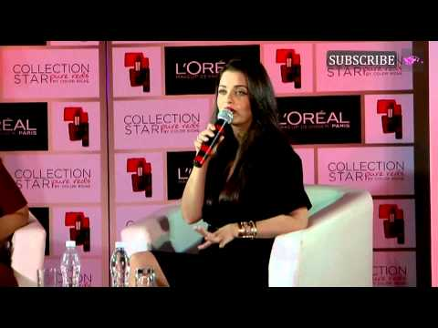 Aishwarya Rai Bachchan launches a new red shade of lipstick | Part 2