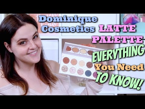 Dominique Cosmetics LATTE PALETTE! Swatches, Demos, Dupe, Wear Tests, and REVIEW! | Jen Luvs Reviews