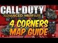 Advanced Warfare - 4 Corners Map Guide For The Royalty Camo Glitch!
