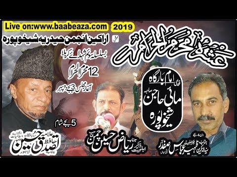 Live Ashra 12 Muharram 2019 Imam Bargah Mayee Hajan Sahiba Sheikhupura (www.Baabeaza.com)