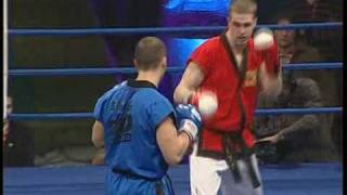 Pro-Taekwondo - World Final One - 2008 - Krylov vs Pantazis