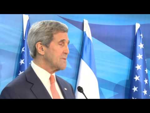 Secretary of State Kerry arrives in Israel, November 2015