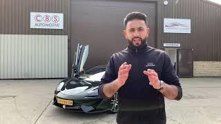 Cheetah 550 - GPS speed and red light camera detector - McLaren 570s