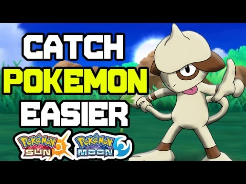 Pokemon Ultra Sun and Ultra Moon - How to Catch Pokemon Easier!