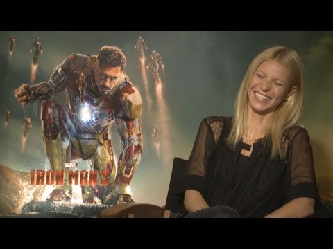 IRON MAN 3 Interviews - Gwyneth Paltrow, Don Cheadle, Ben Kingsley, Guy Pearce & Rebecca Hall