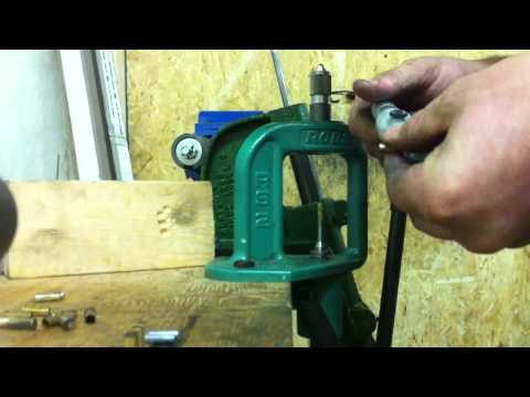 Edge Dies Instructional Video Bullet Swaging .224