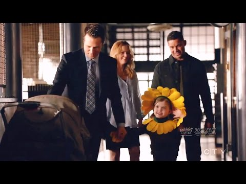 """Castle 8x20 Ryan Jenny and Sarah Grace """"Much Ado About Murder"""""""