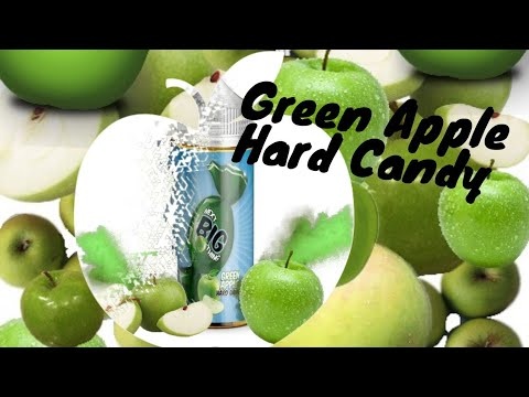 next big thing green apple hard candy ejuice review
