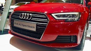 ALL NEW AUDI A3 SPORTBACK | IN DETAILS | SUPER RED PREMIUM SUV
