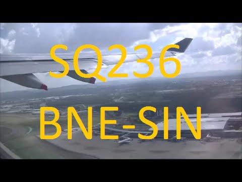 SINGAPORE AIRLINES FLIGHT REPORT: SQ236 Brisbane-Singapore