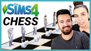 We built a board and played Chess in The Sims 4...
