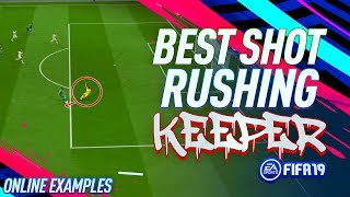 BEST WAY TO BEAT A RUSHING KEEPER!! - Fifa 19 Driven Shot Tutorial - Win 1-on-1 Situations