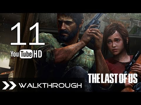 The Last of Us Walkthrough - Gameplay Part 11 45% (Pittsburgh - Hotel Lobby) Hotel Keycard & Generator 1/2 No Commentary