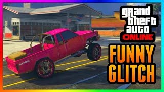 GTA 5 Online: CAR WHEELIE GLITCH! - After Patch 1.32 & 1.27 - PS3/PS4/Xbox One/Xbox 360/PC